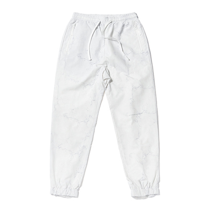 스티그마KEIL ZIPPER JOGGER PANTS MARBLE WHITE - 풋셀스토어