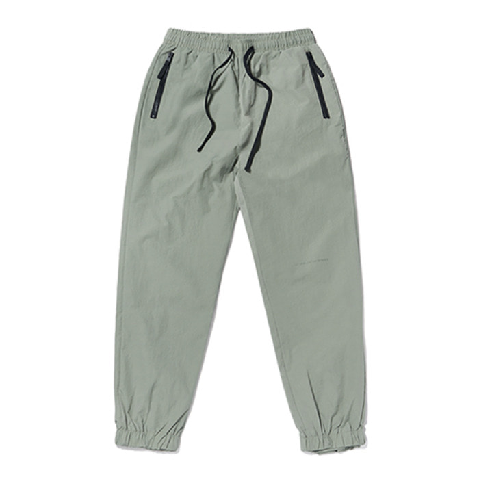 스티그마KEIL ZIPPER JOGGER PANTS OLIVE GREY - 풋셀스토어