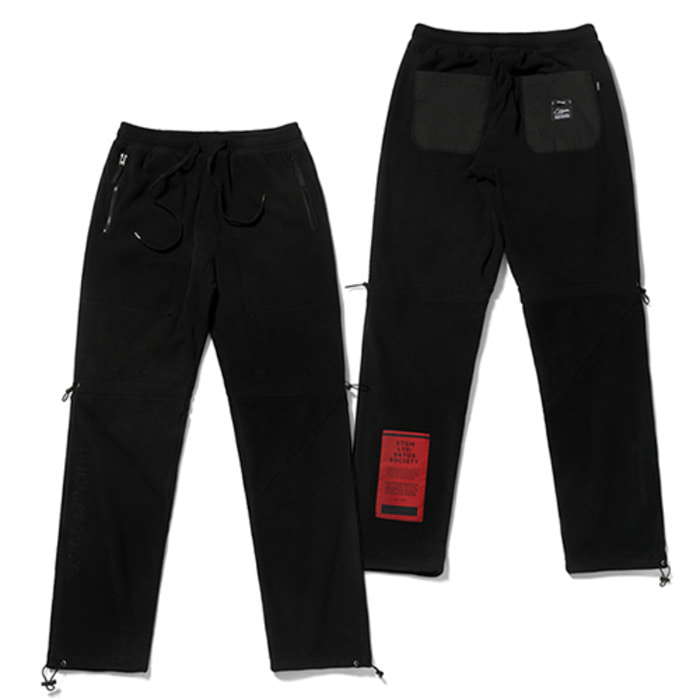 스티그마BLEND FLEECE JOGGER PANTS BLACK - 풋셀스토어