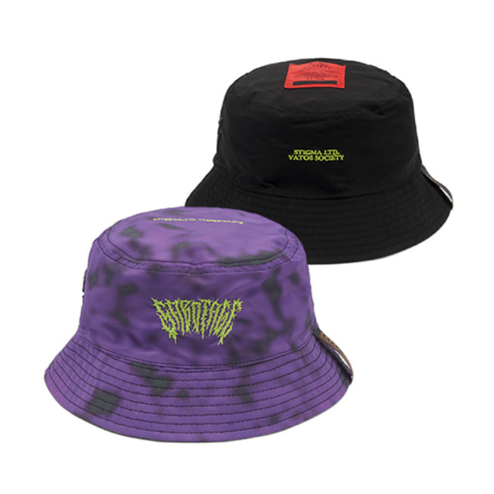 스티그마GAUSSIAN REVERSIBLE BUCKET HAT PURPLE - 풋셀스토어
