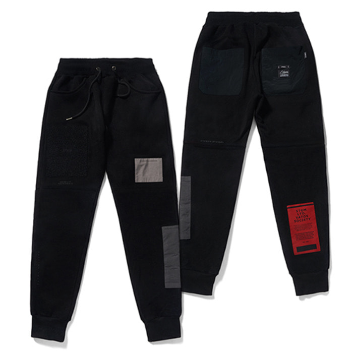 스티그마DV TECH HEAVY SWEAT JOGGER PANTS BLACK - 풋셀스토어