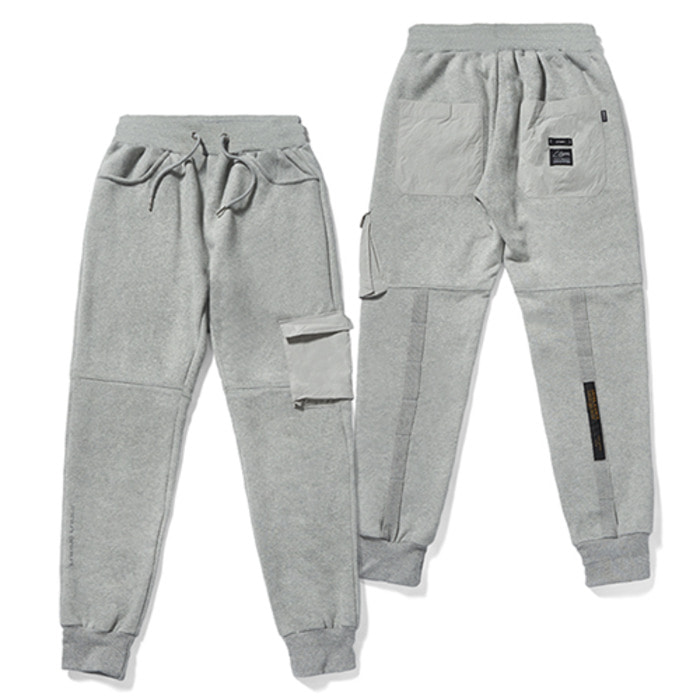 스티그마20 TECH HEAVY SWEAT JOGGER PANTS GREY - 풋셀스토어