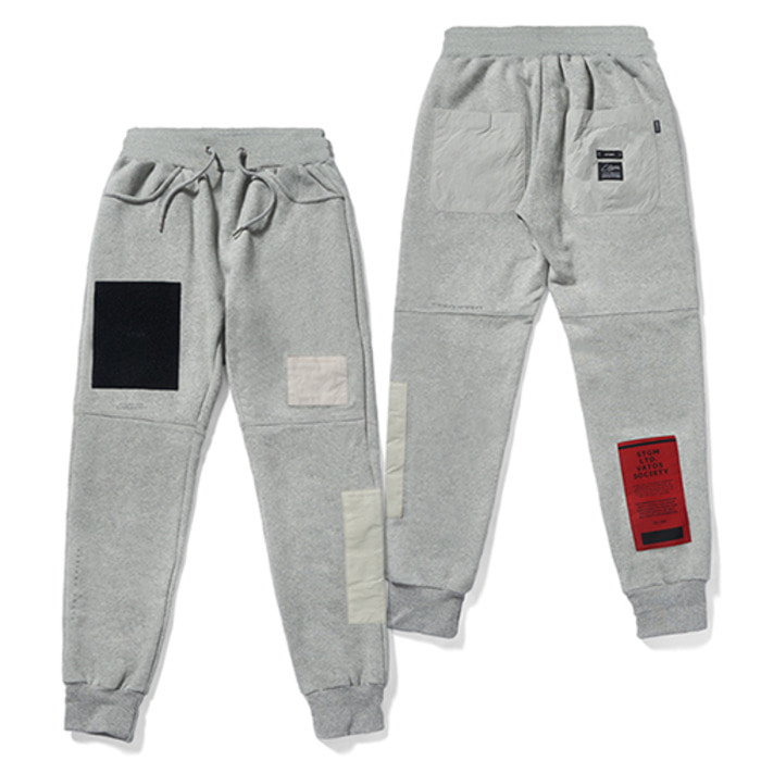 스티그마DV TECH HEAVY SWEAT JOGGER PANTS GREY - 풋셀스토어