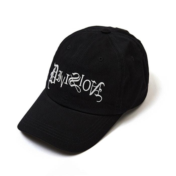 스티그마TYPO BASEBALL CAP BLACK - 풋셀스토어