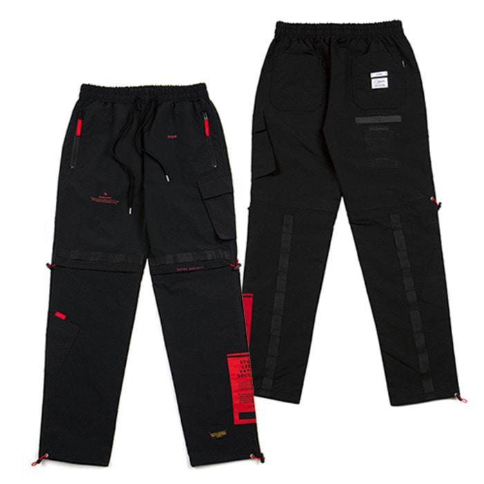 스티그마21SS TECH JOGGER PANTS BLACK - 풋셀스토어