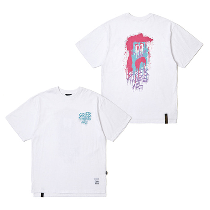 스티그마TOY OVERSIZED T-SHIRTS WHITE - 풋셀스토어