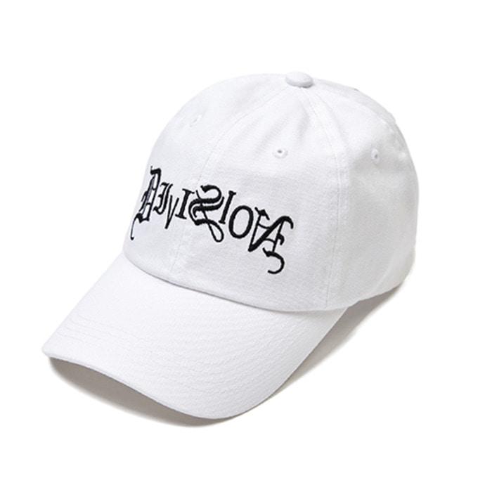 스티그마TYPO BASEBALL CAP WHITE - 풋셀스토어