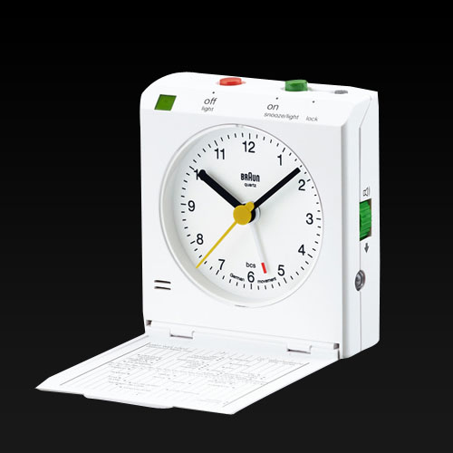 슈프림 탁상시계, SUPREME - SupremeBraun® Travel Alarm Clock - 풋셀스토어
