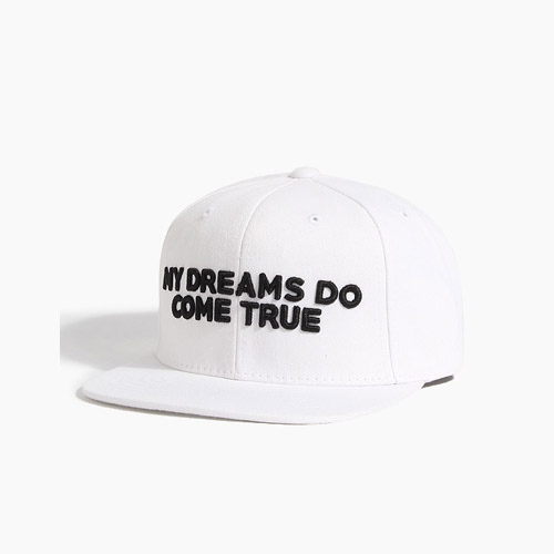 [808hats] 808 My Dreams Do Come True Snapback White, 도끼스냅백 - 풋셀스토어