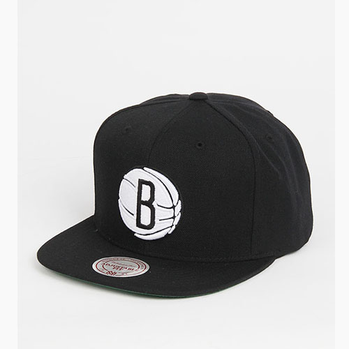 [미첼엔네스 스냅백] M&N NBA Basic Logo Snapback Brooklyn Nets