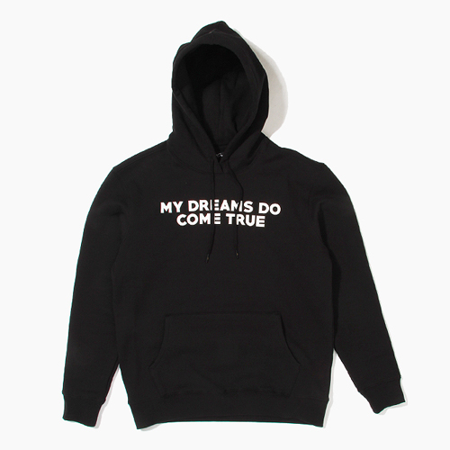 [808hats] 808 후디, My Dreams Do Come True Pullover Hoodie Black, 도끼후드티 - 풋셀스토어