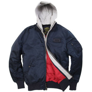 [알파인더스트리] ALPHA INDUSTRIES MA-1 D-TEC X (REPLICA BLUE) [MJM38029C1-BL], 자켓