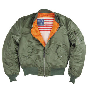 [알파인더스트리] ALPHA INDUSTRIES MA-1 BLOOD CHIT FLIGHT JACKET (SAGE) [MJM21300C1-SA], 자켓