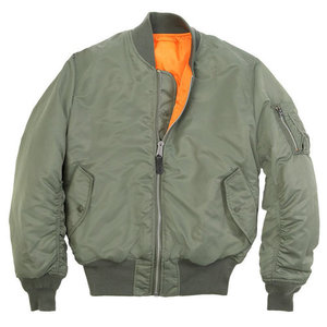 [알파인더스트리] ALPHA INDUSTRIES MA-1 FLIGHT JACKET (SAGE) [MJM21000C1-SA], 자켓