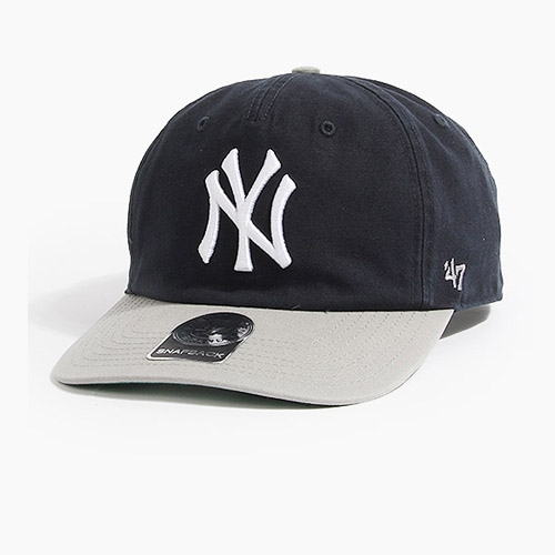 [47BRAND] Marvin 47 Captain Rf Yankees(Navy/Grey), 스냅백