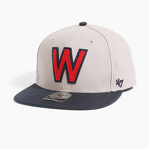 [47BRAND] Baseball United Casey W(Grey), 스냅백 - 풋셀스토어