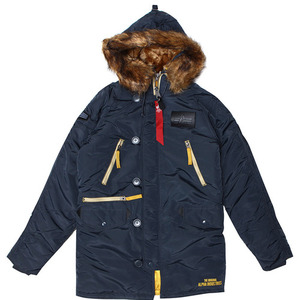 [알파인더스트리] ALPHA INDUSTRIES N-3B INCLEMENT (STEEL BLUE) [MJN44512C1-ST] ,알파인더스트리 자켓