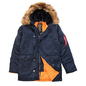 [알파인더스트리] ALPHA INDUSTRIES N-3B SLIM FIT PARKAS (REPLICA BLUE) [MJN31210C1-BL] ,알파인더스트리 자켓
