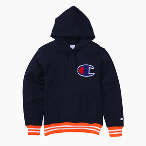 챔피온 일본 빅로고 후디CHAMPION (JAPAN) Big Logo Hoodie(C3-H108) Navy