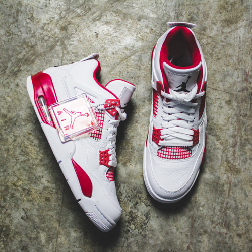 조던4 얼터네이트 89,AIR JORDAN4 RETRO 89 ALTERNATE308497-106, MEN