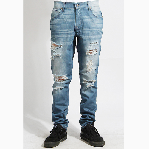 [러스틱다임] RUSTICDIME Taper Fit Denim Saint Isko, 남자 긴바지