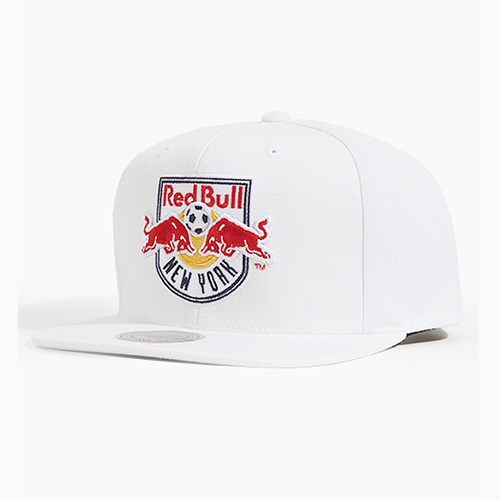 [미첼엔네스 스냅백] M&NMLS Team (VR26Z) White Red Bulls
