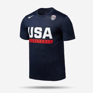 나이키 USA 드라이핏 반팔티, AS USAB M NK DRY TEE SS PRACTICE, 768824-451, USA 올림픽 반팔티