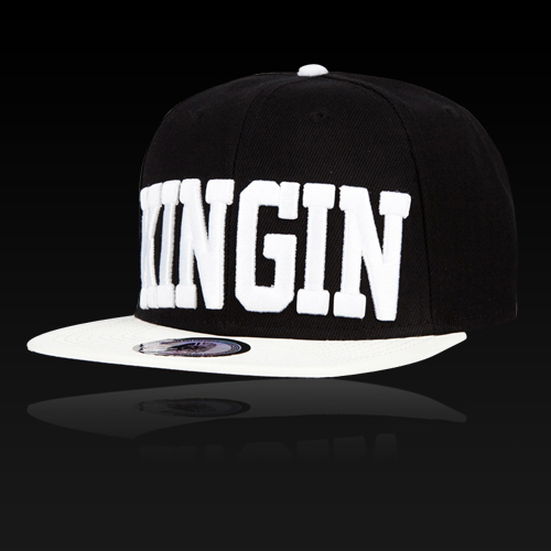 [LASTKINGS] 라스트킹스 스냅백 Kingin Snapback (Black/White)