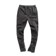 [어반스터프] USF INSIDE ZIP SWEAT PANTS BLACK, 팬츠, 긴바지