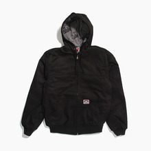 [BENDAVIS] Hooded Jacket Black, 벤데이비스 후드집업