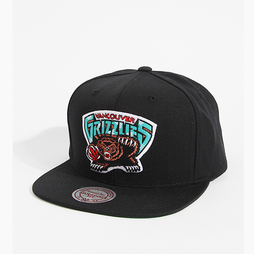 [미첼엔네스 스냅백] M&N NBA WOOL SOLID 2 BLACK Grizzlies NL15Z