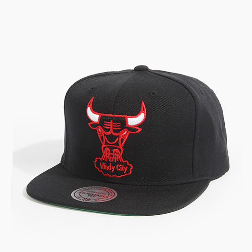 [미첼엔네스 스냅백] M&N NBA NZ979 TSC Bulls(Black)