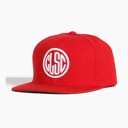 [CLSC] Stamp Snapback Red, CLSC 스냅백