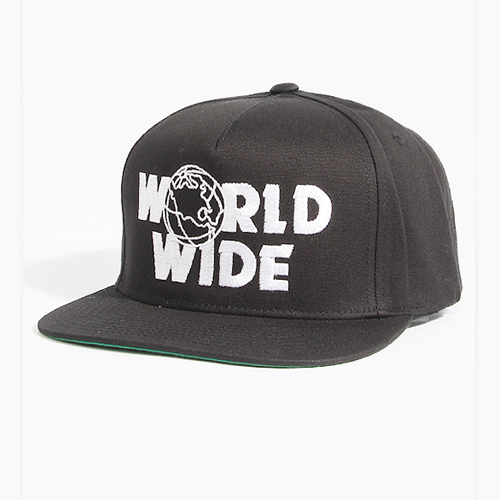 [CLSC] World wide Snapback Black, CLSC 스냅백