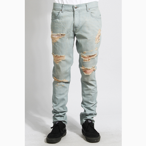 [러스틱다임] RUSTICDIME Taper Fit Denim Venice Sand, 남자 긴바지