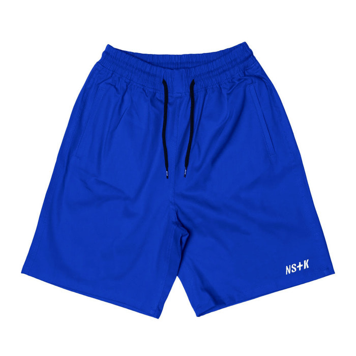 네스티킥, [NSTK] EASY CODE 003 SHORT PANTS (BLUE) - 풋셀스토어