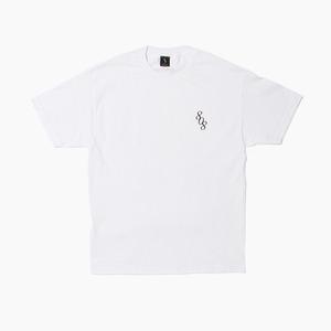 [808hats] 808 Logo S/S White, 도끼반팔티, 808 반팔티 - 풋셀스토어