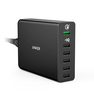 [ANKER] 앤커 파워포트+ 6포트 with Quick Charge 3.0™ - 풋셀스토어