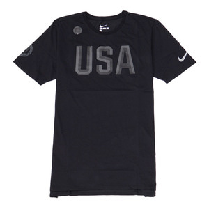 나이키 미국 USA 올림픽 로고 반팔티, NIKE USA LOGO T-SHIRT, 801149-011 - 풋셀스토어