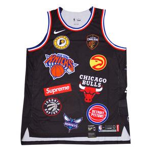 슈프림x나이키 NBA 팀 어센틱 져지, SUPREMExNIKE NBA TEAMS AUTHENTIC JERSEY, AQ4227-010 - 풋셀스토어