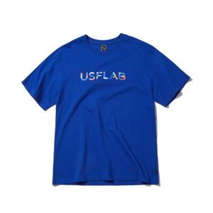 [어반스터프] USF TUBE LOGO TEE BLUE - 풋셀스토어
