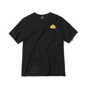 [어반스터프] USF CHUBBY FLOWER TEE BLACK - 풋셀스토어