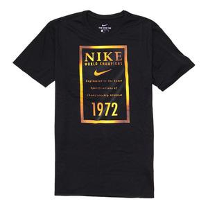 나이키 드라이핏 골드배너 반팔티, NIKE DRY TEE GOLD BANNER, 913524-010 - 풋셀스토어