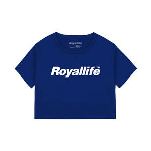 [로얄라이프] RLCR201 로얄라이프 로고 크롭 티 - 4컬러 - 풋셀스토어