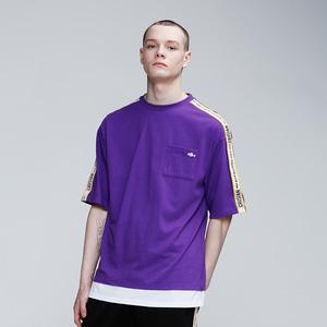 [핑크크루시안] 크루시안 로고 테잎 포켓 티셔츠 PCB2TS004 (남여공용) - 풋셀스토어