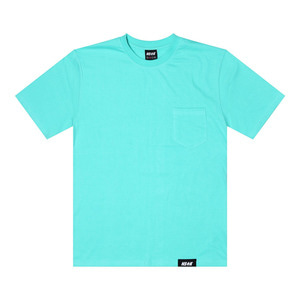 네스티킥, [NSTK] EASY CODE 002 POCKET TEE (AQUA) - 풋셀스토어