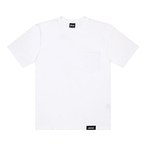 네스티킥, [NSTK] EASY CODE 002 POCKET TEE (WHT) - 풋셀스토어