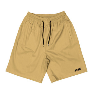 네스티킥, [NSTK] EASY CODE 003 SHORT PANTS (BEIGE) - 풋셀스토어