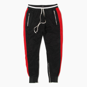 [하이퍼데님] HYPER DENIM Track Zipper Jogger Black - 풋셀스토어