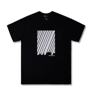 [위티나트] FFBW 레이니데이 쇼트 슬리브 티셔츠 블랙 / FFBW RAINY DAY SSV T-SHIRT black - 풋셀스토어